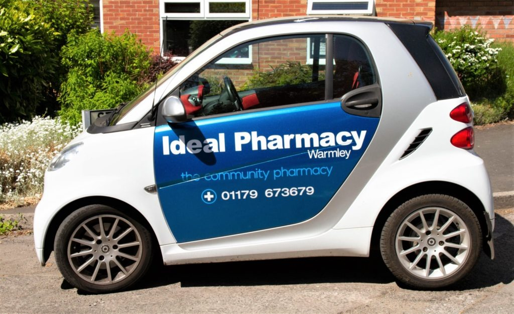 Ideal Pharmacy Smart Car
